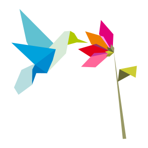 Origami hummingbird symbolizing google's newest algorithm update