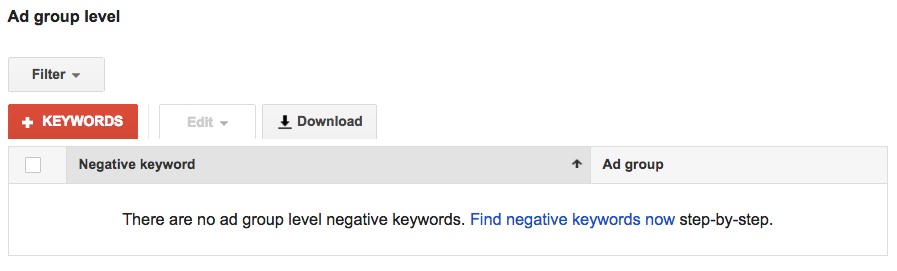 Using Negative Keywords to Control PPC Costs