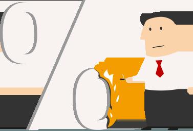 Burning-percentage