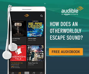 Audible using a question in the ad