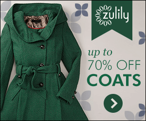 Zulily compelling colors display ad example