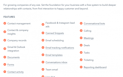 New HubSpot Features Free