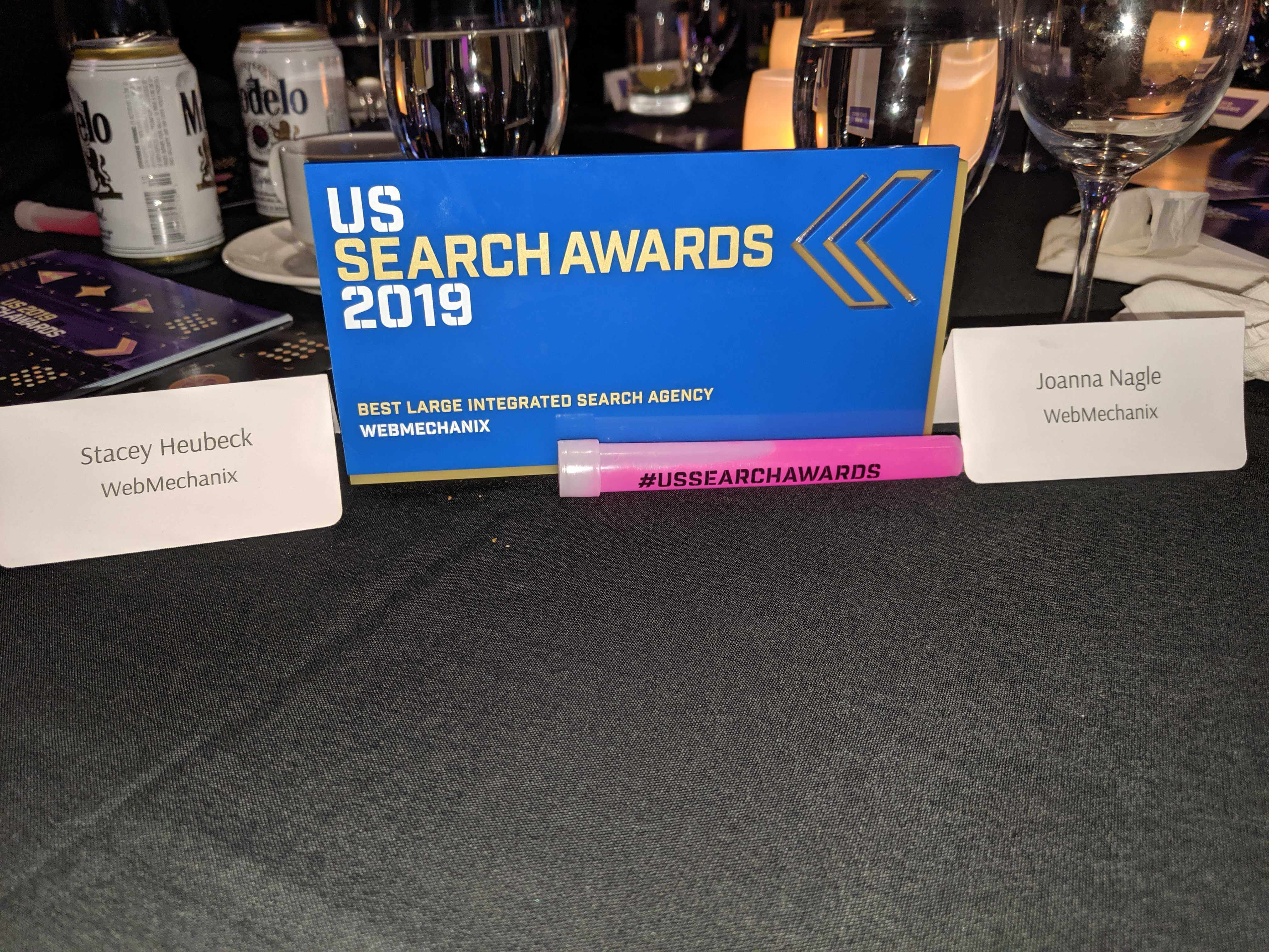 US Search Award 2019 webmechanix
