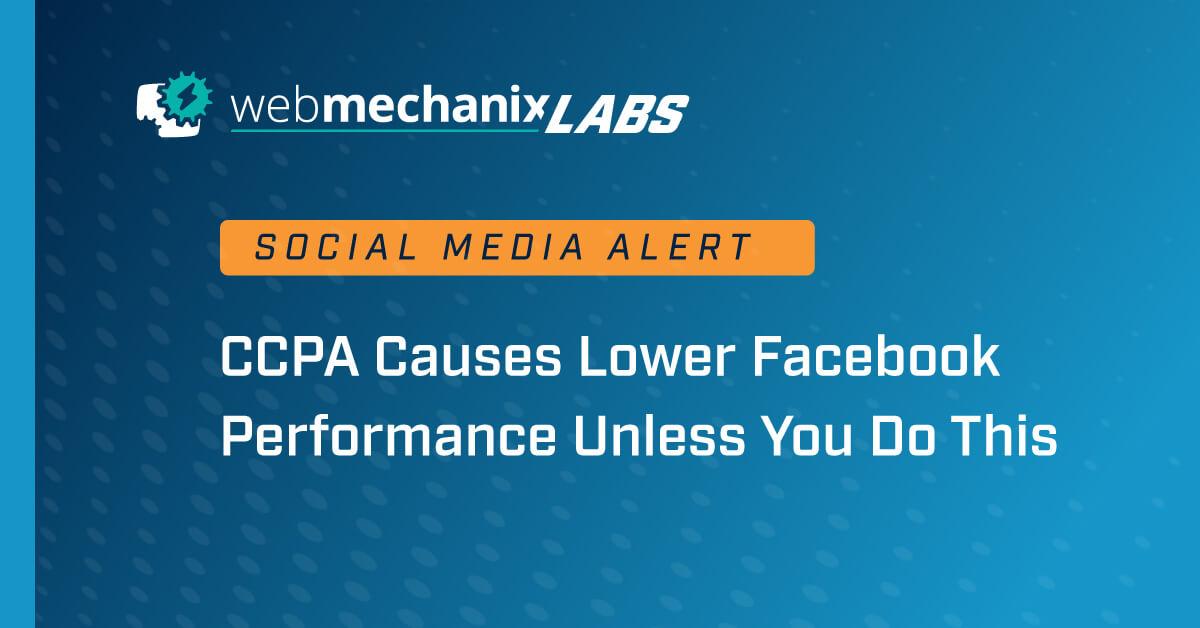 WMX Labs CCPA Drop