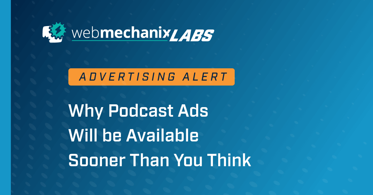 Podcast Ads News