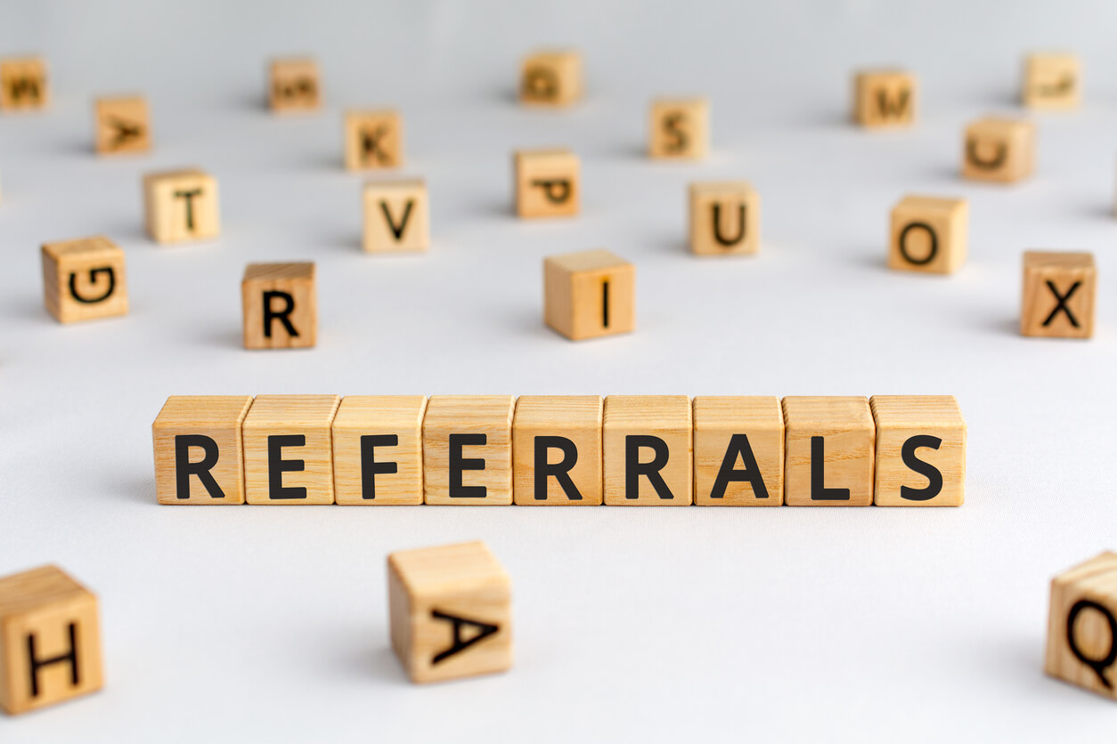 Referrals graphic