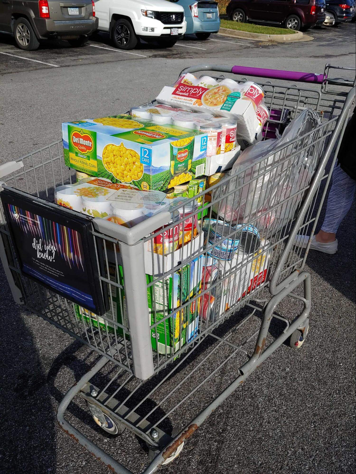 Donated Food from WebMechanix