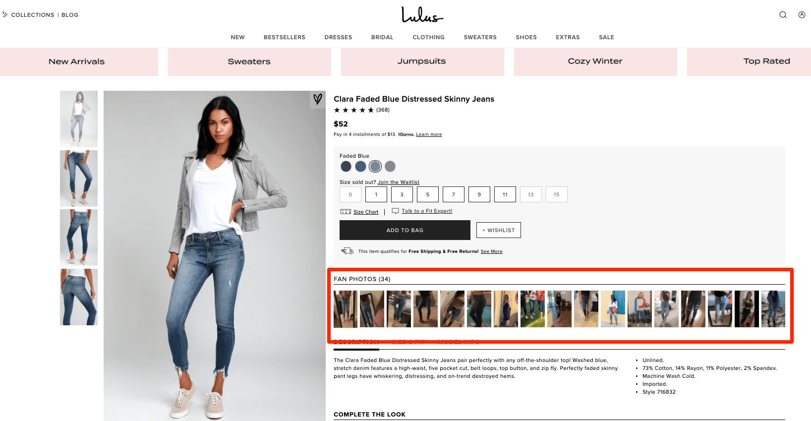 example of user generated content