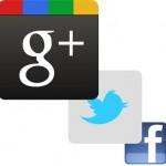 Google Plus Ones Twitter Tweets Facebook Likes