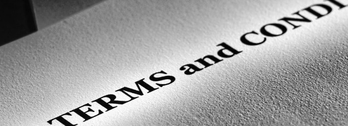 Keeping Your Content Legal Terms and Conditions